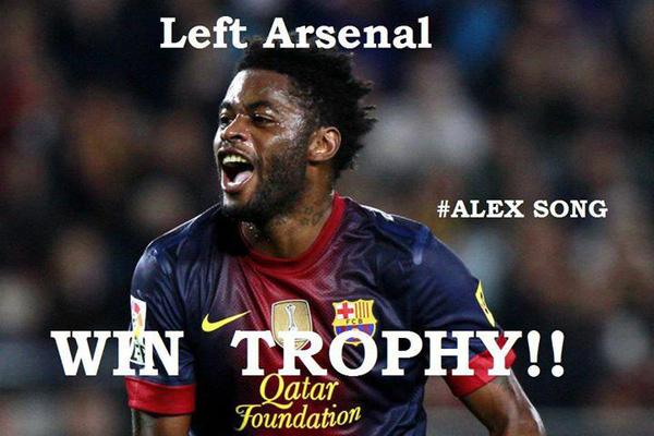 Lại thêm một người nữa rời Arsenal và có danh hiệu