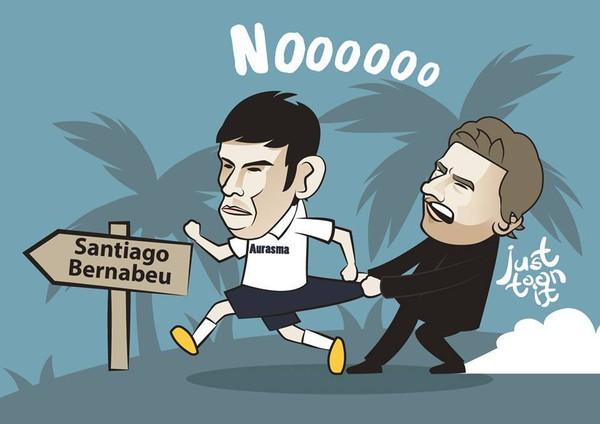 Đừng đi mà Bale!
