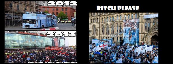 Sự khác biệt giữa Man United và Man City