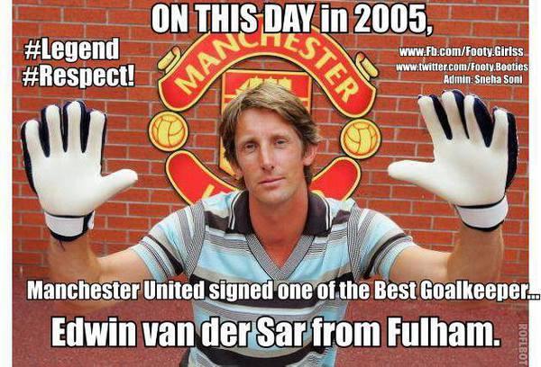 """Ngày này cách đây 8 năm, Man United đã """"tậu"""" được một thủ môn huyền thoại"""