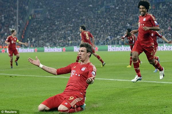 Bayern đã dễ dàng vượt qua Juve để giành vé vào bán kết