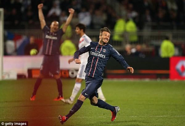David Beckham lập kỷ lục vô tiền khoáng hậu