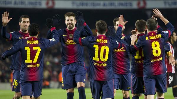 """Messi cùng Barca """"bá đạo"""" La Liga"""