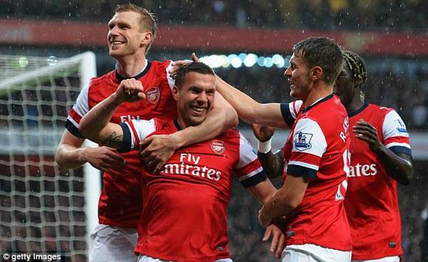 Arsenal đã ở rất gần tấm vé dự Champions League