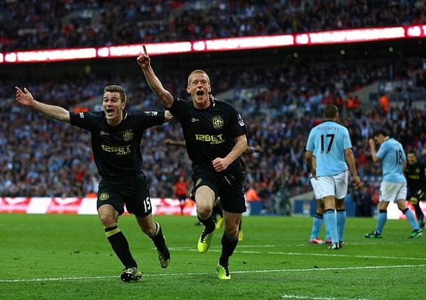 Các cầu thủ Wigan đã giành chiến thắng một cách hoàn toàn xứng đáng