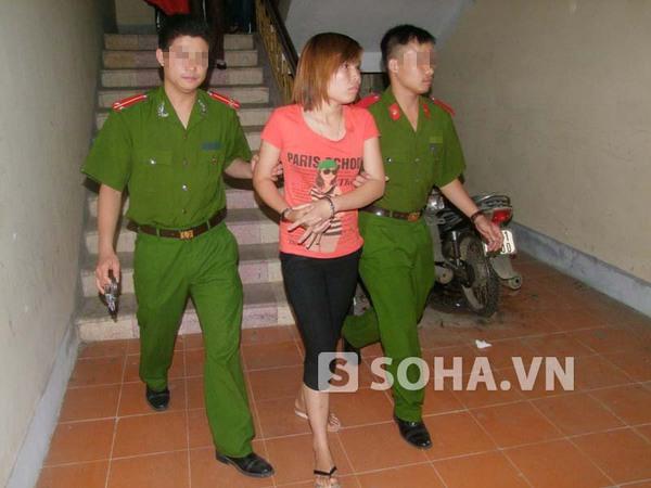 Bắt đối tượng có lệnh truy nã về hành vi môi giới mại dâm