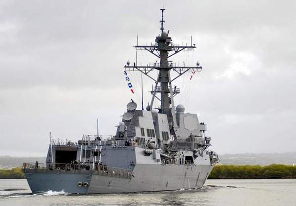 Tàu USS Michael Murphy thuộc lớp Arleigh Burke.