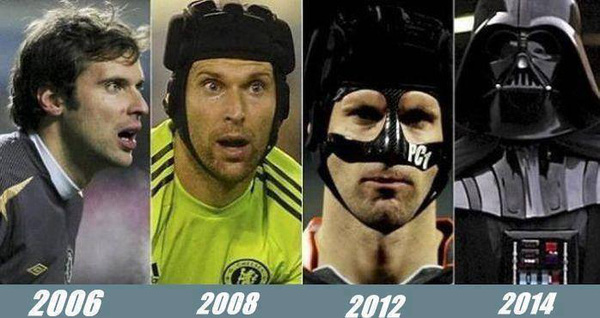 """Petr Cech """"nâng cấp"""" theo thời gian"""