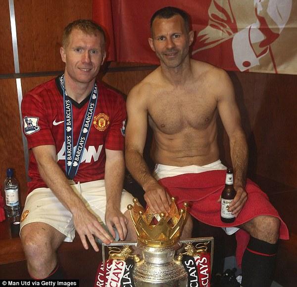 Những lão tướng như Scholes và Ryan Giggs sẽ gia nhập BHL của Man United