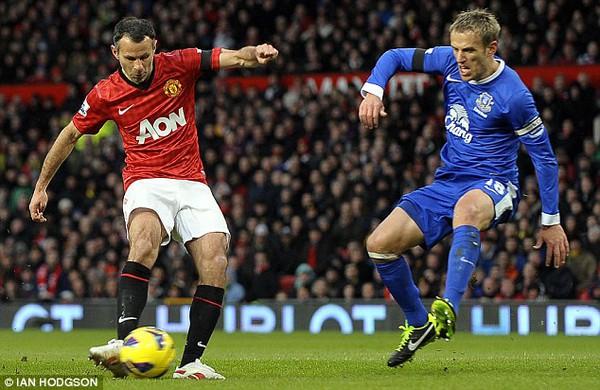 Phil Neville đã nói lời từ biệt với Everton