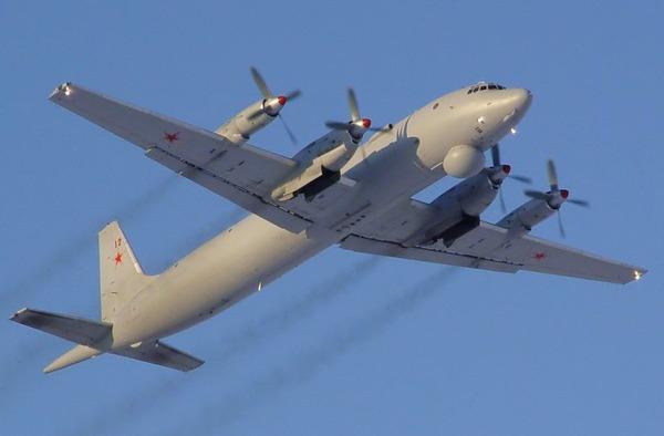 Máy bay tuần tra chống ngầm Il-38 của Hải quân Nga.