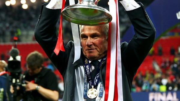 HLV J.Heynckes phải đợi 15 năm để có được chức vô địch Champions League thứ 2