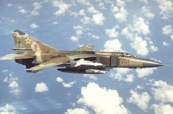 MiG-23MLD là biến thể cuối cùng của dòng tiêm kích đánh chặn MiG-23. Loại này được cải tiến về hệ thống radar và điện tử, có khả năng mang được tên lửa không đối không hiện đại R-73 và R-27.