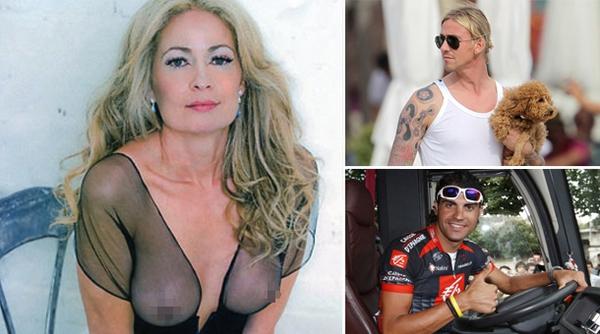 Nữ nghị sĩ đa tình cặp kè cả Guti và Oscar Pereiro