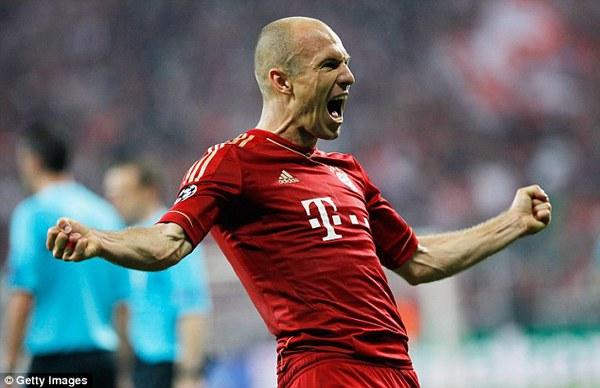 Robben khó lòng trụ lại dưới thời Pep