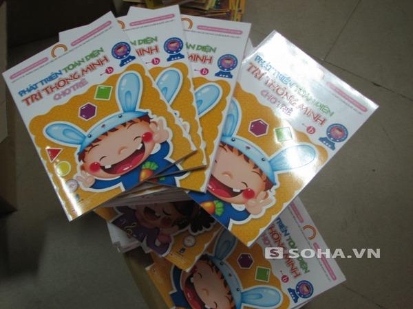 Số sách được thu về lỗi in sơ xuất của NXB Dân Trí và Cty Hương Thủy.