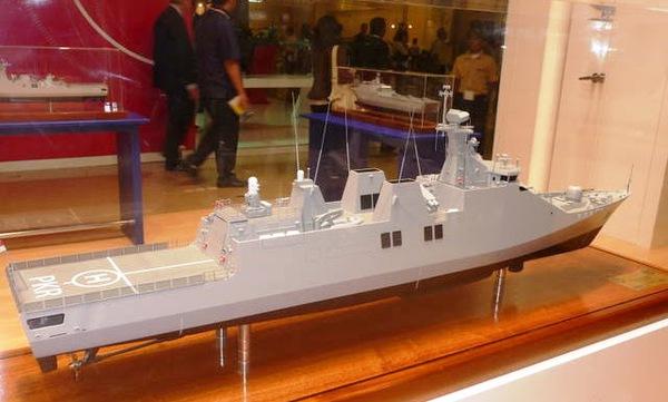 Tàu hộ vệ tên lửa tàng hình Sigma 10.154