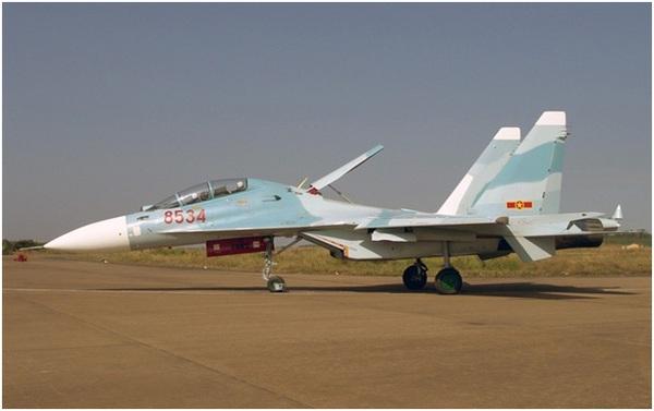 'Hổ mang chúa' Su-30MK2V của Không quân Nhân dân Việt Nam tại sân bay quân sự ở Đồng Nai.