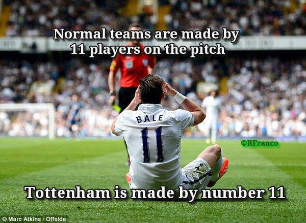 Tottenham - đội bóng 1 người?!