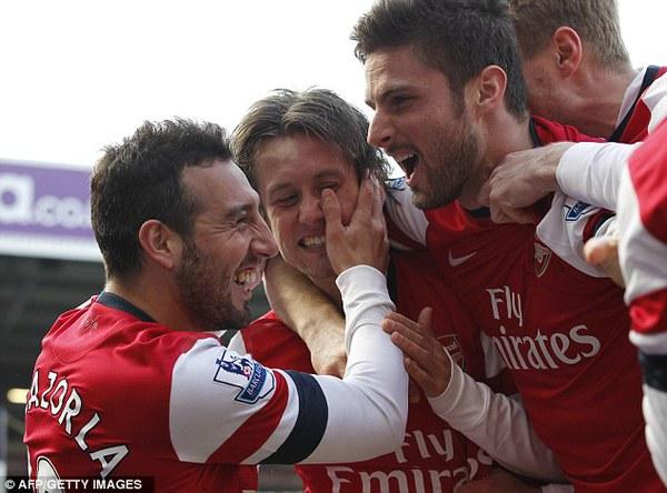 Cuối cùng Arsenal vẫn có thể mỉm cười chiến thắng