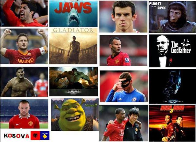 Sao bóng đá và phim