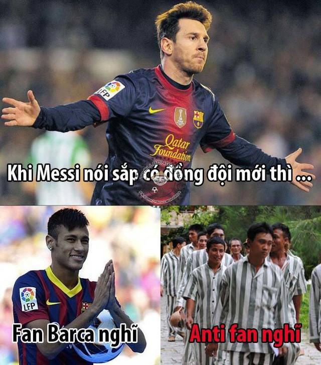 Liệu Messi sẽ đồng đội với ai đây?