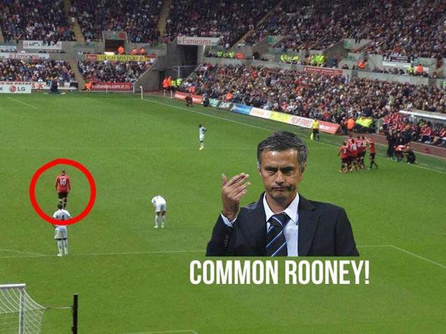Không vui với Man United thì sang đây nào Rooney
