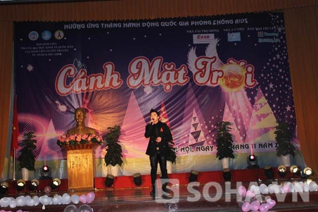 Chương trình còn có sự tham gia của ca sĩ Hồng Dương.