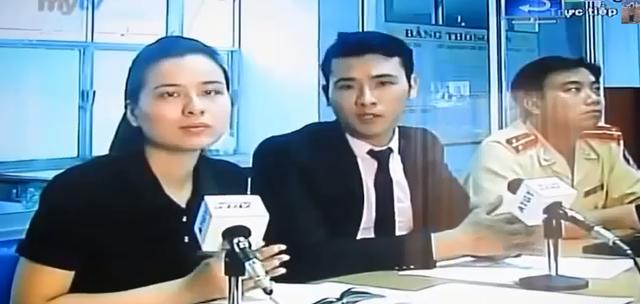 Hình ảnh trong buổi truyền hình trực tiếp.