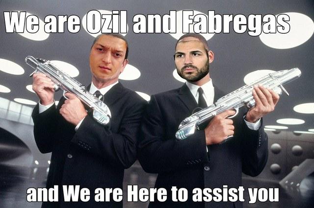 Ozil, Fabregas - những người hùng thầm lặng
