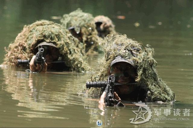 Lính đặc nhiệm Trung Quốc tập luyện