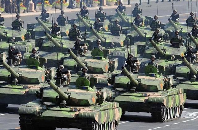 Dàn xe tăng hùng hậu của Trung Quốc