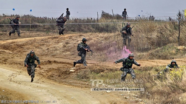 Bộ binh PLA liên tục tập trận quy mô lớn thời gian gần đây