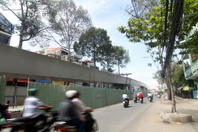 Cận cảnh các cây cầu sắp hoàn thành ở Sài Gòn