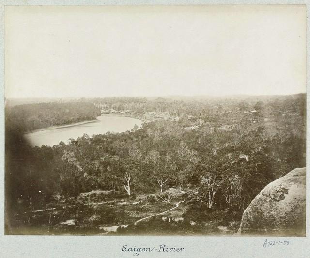 Sông Sài Gòn.
