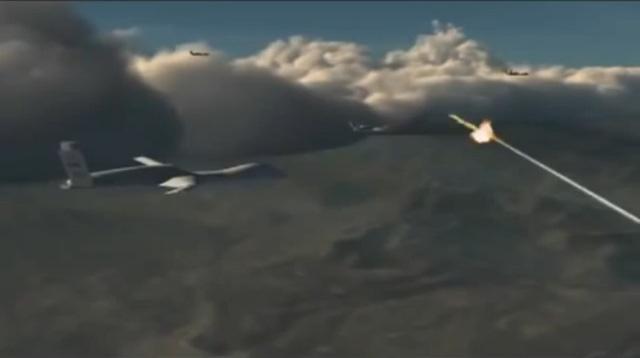 Sau đó, Predator C Avenger tiếp tục di chuyển và xác định vị trí radar của hệ thống tên lửa phòng không S-300...