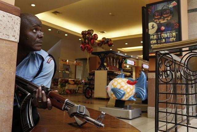 Ảnh hiện trường vụ tấn công kinh hoàng vào siêu thị ở Nairobi