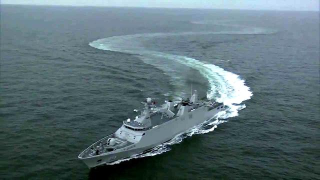 Hoàn Cầu nhận định tàu SIGMA nếu kết hợp với tàu ngầm và máy bay tiêm kích sẽ trở thành tam giác chiến thuật du kích hiện đại.