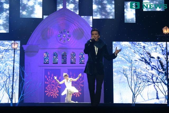 Tối 23/12, Liveshow của Mr.Đàm có tên ''Lời tình mùa đông'' đã được tổ chức tại Hà Nội