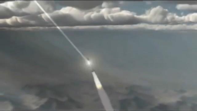 Vũ khí laser của Predator C Avenger đã kích nổ tên lửa của Nga trước khi bay tới mục tiêu.