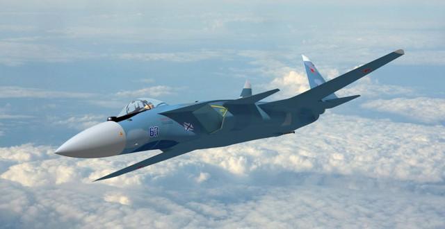 Su-47 phiên bản tiêu chuẩn có thể đạt tốc độ tối đa 2.200km/giờ, trần bay 18.000m.