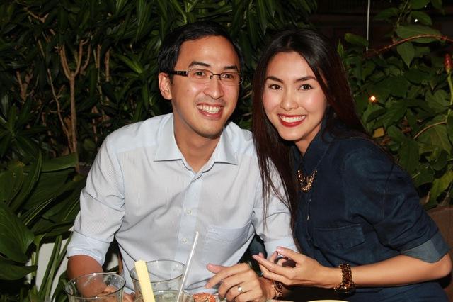 Tăng Thanh Hà không có thói quen 'chăm sóc' chồng