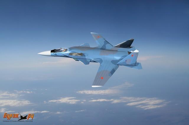 Ngoài ra, kiểu thiết kế cánh ngược cũng giúp tăng tầm hoạt động và trần bay cho Su-47.