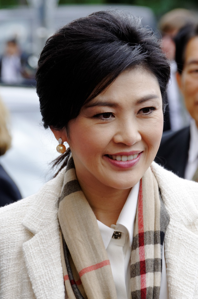 Khuôn mặt xinh đẹp không tì vết bà được đại diện cho vẻ đẹp hoàn hảo của người Thái.