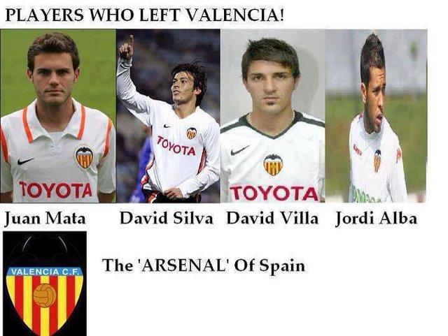 Valencia - một Arsenal của La Liga