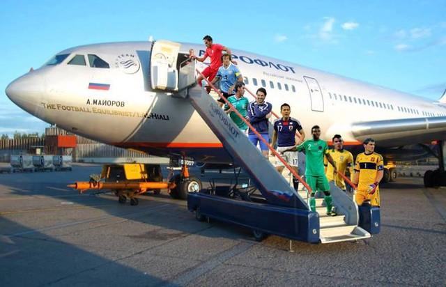 Họ đã đến Brazil rôi