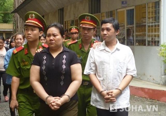 Hai đối tượng Nguyễn Thị Hà và Nguyễn Văn Tùng chuyên dàn cảnh để trộm đồ của người nước ngoài.