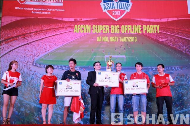 Các giải thưởng sau cuộc thi bóng đá mini trong hội AFC VN cũng được trao tại sự kiện.