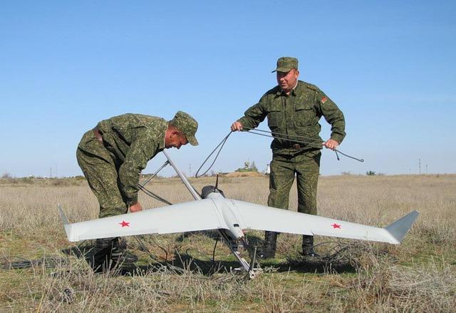 Một mẫu máy bay không người lái của Ikurt