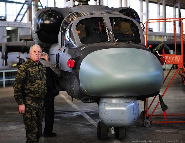 Ka-52 bắt đầu được phát triển vào năm 1994 và bay thử nghiệm thành công lần đầu tiên vào ngày 25/6/1997